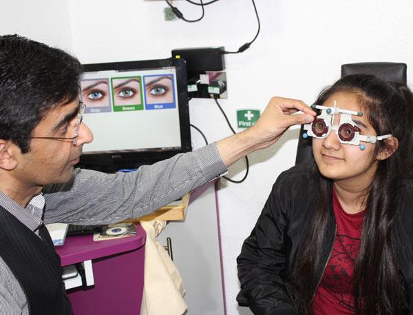 Oracle Optician - Children-Eye-Examination