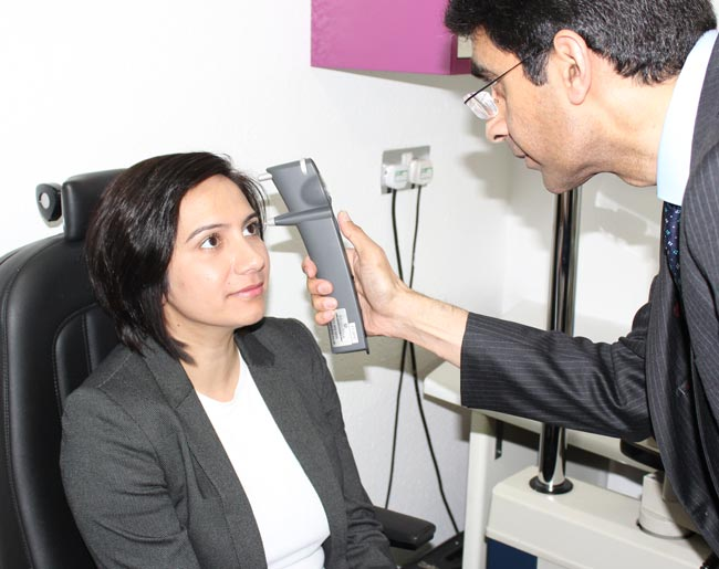 Oracle Optician - Eye-Examination